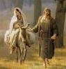 Maria și Iosif colindă